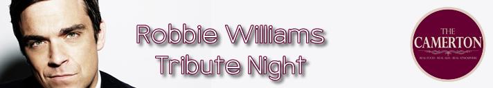Robbie Williams Tribute Night