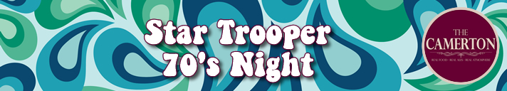 Star Trooper 70's Night