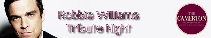 Robbie Williams Tribute Night