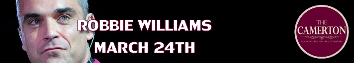 Robbie Williams March 24th 2018